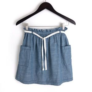 HANNA Andersson . Girl's Chambray Skirt 150